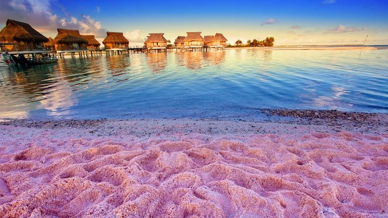 Бунгало на розовом пляже Нарбор-Айленд