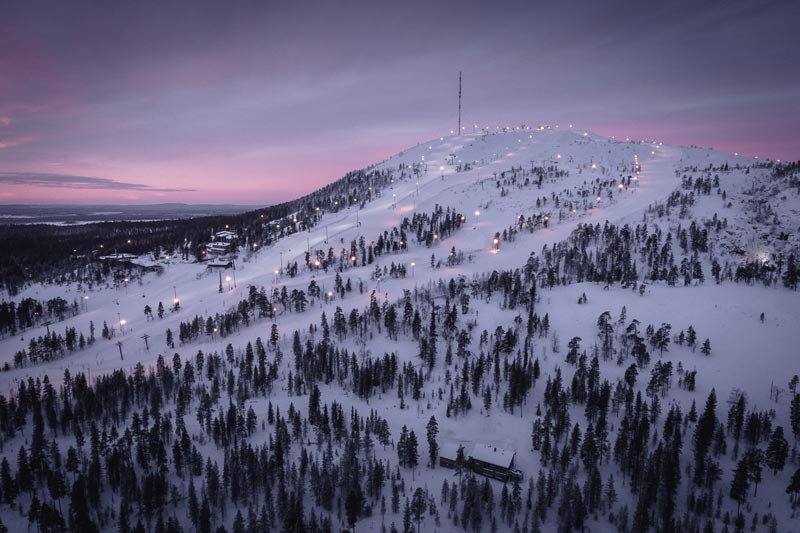 Пюхя - горнолыжный курорт в Финляндии