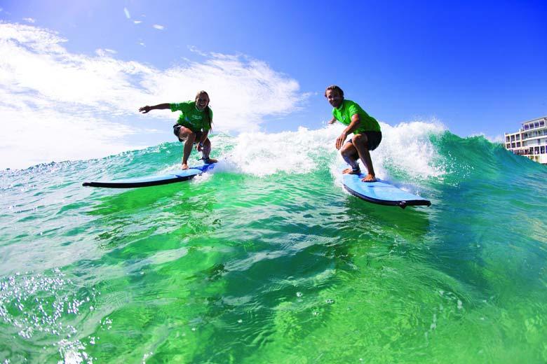 Серфинг на Бонди-Бич