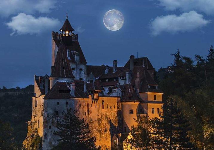 Замок графа Дракулы в Трансильвании