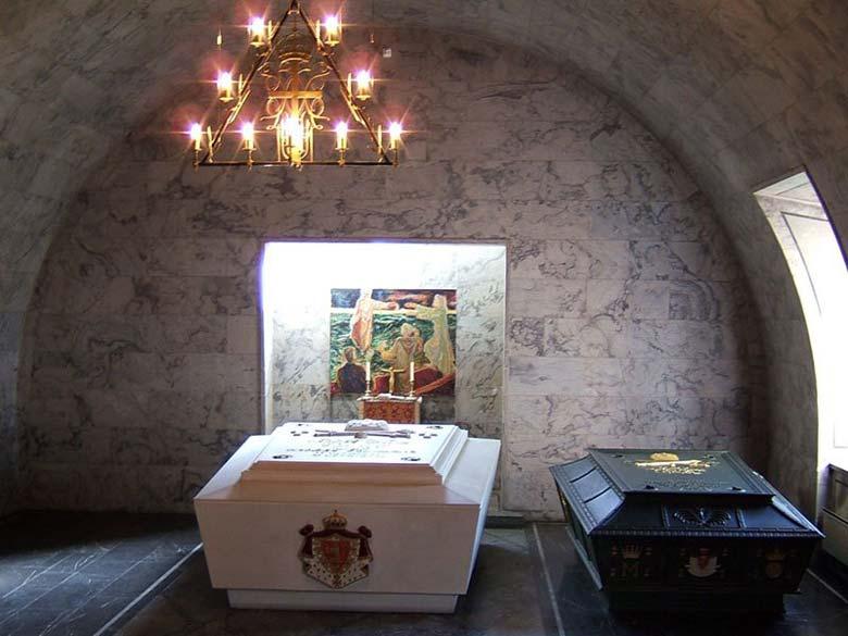 Усыпальница королевской семьи в крепости Акерсхус