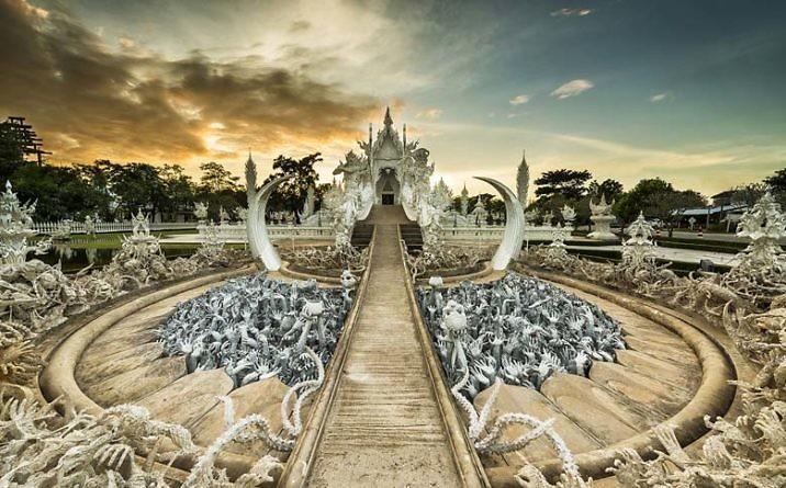 Ват Ронг Кхун – Белый храм в Таиланде