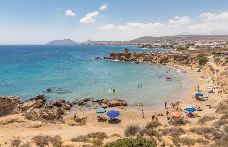 Амбелас -пляж в Греции