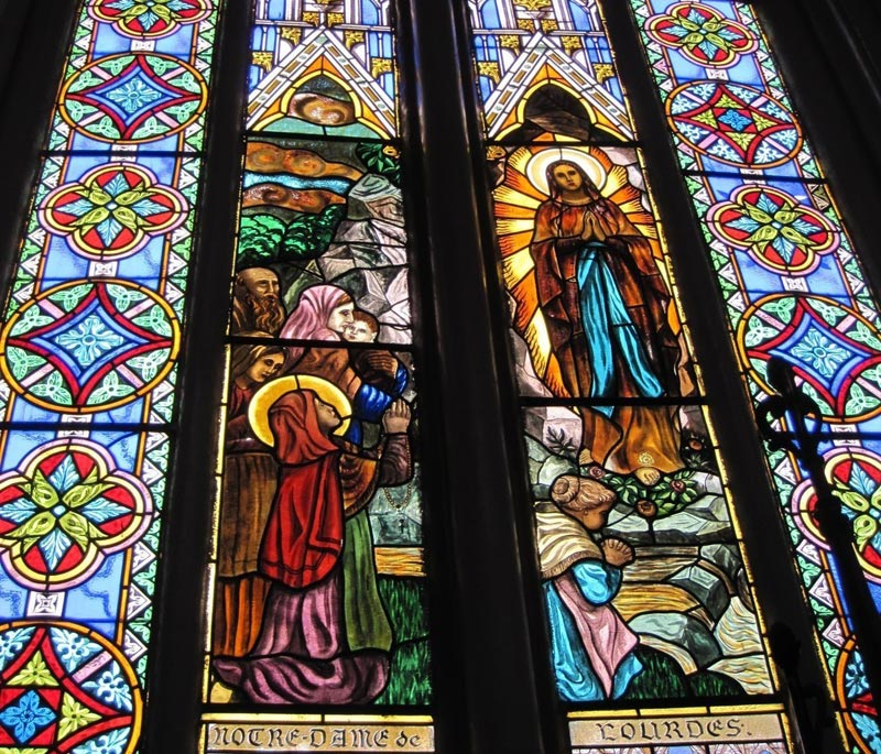 Дева Мария в соборе Лас-Лахас