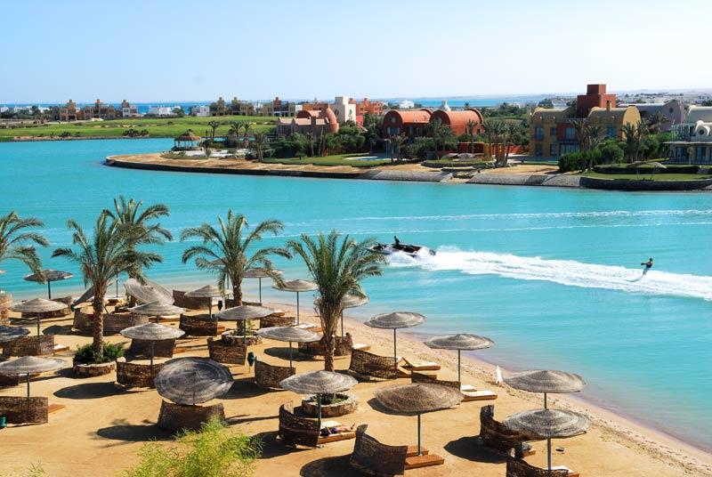 Эль-Гуна - пляж