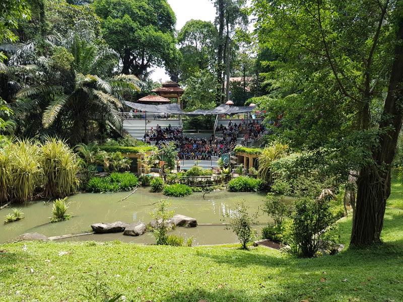 Парк птиц в Куала-Лумпуре - вид