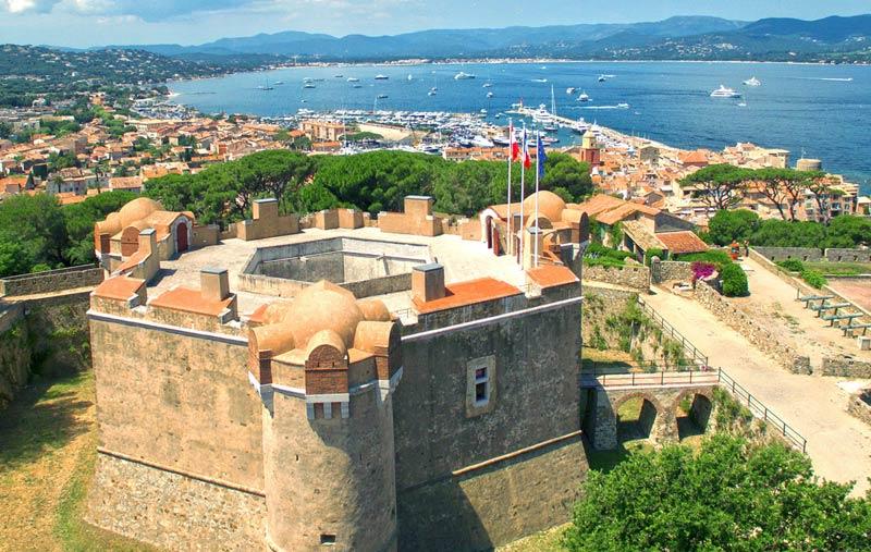Замок Сюффрен в Сен-Тропе
