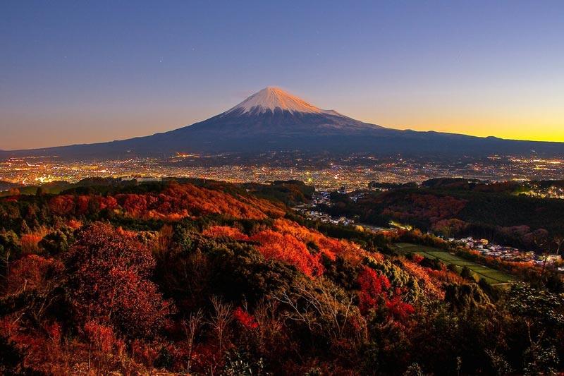 Гора Фудзи в Хаконе