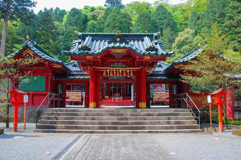 Храм Хаконе, Япония