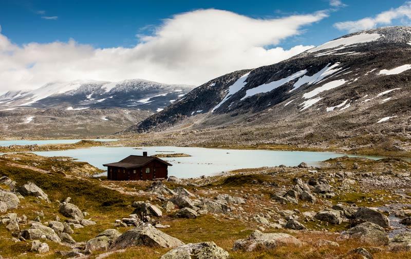 Национальный парк Хардангервидда в Норвегии