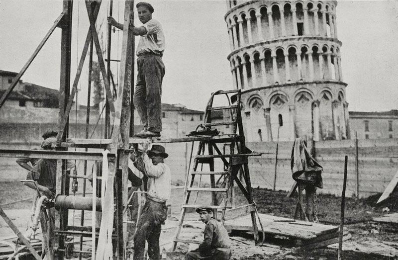Реконструкция Пизанской башни