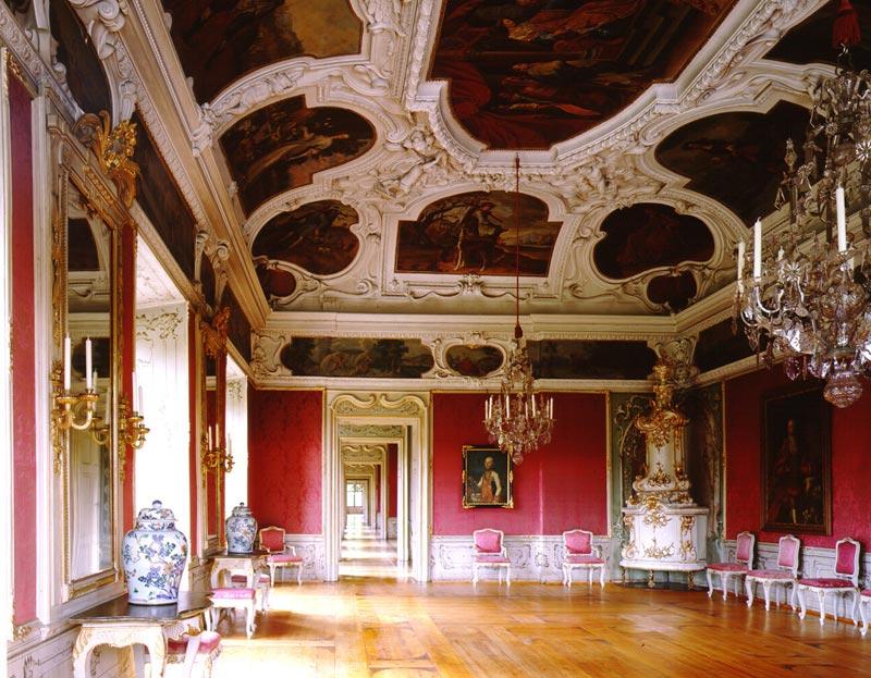 Замок Эггенберг внутри