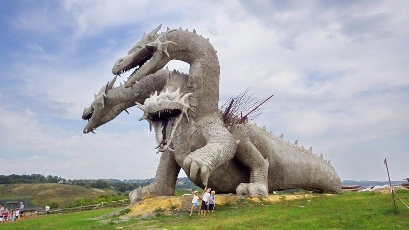 Змей Горыныч, Кудыкина гора