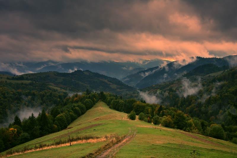 Горы Карпаты, Румыния