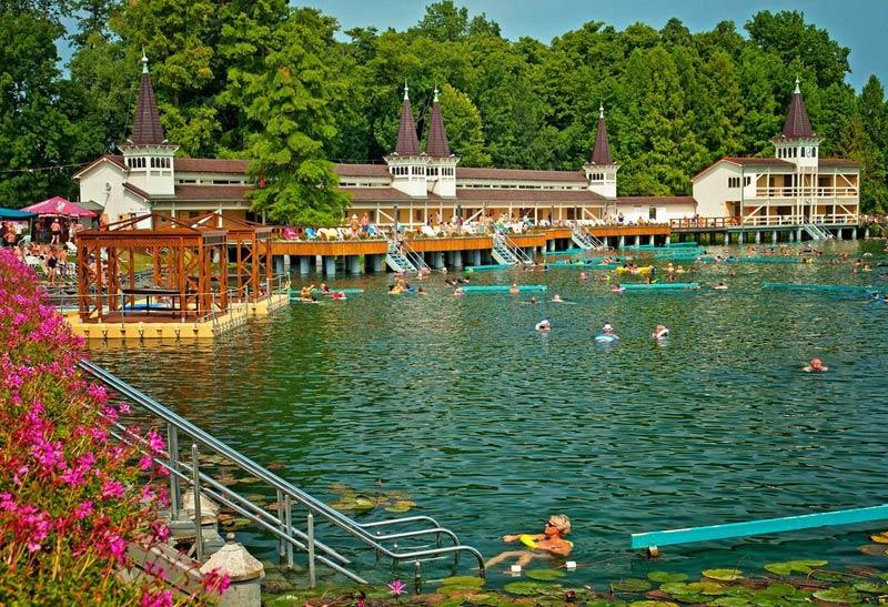 Озеро Хевиз, Венгрия
