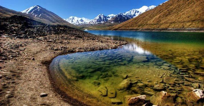 Озеро Иссык-Куль в Киргизии
