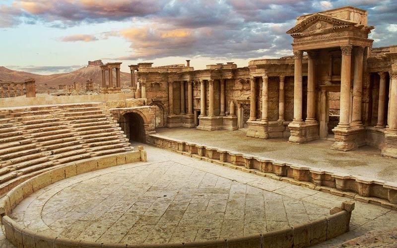 Пальмира, Амфитеатр