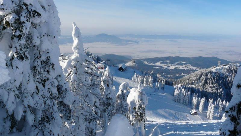 Румыния зимой