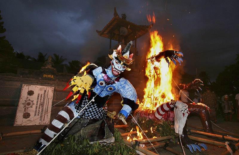 Церемония Ого-ого на Бали