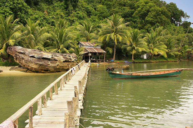 Национальный парк Реам в Камбодже