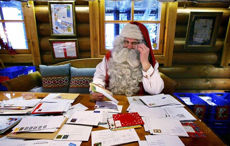 Письмо новержскому Деду Морозу (Юлениссену)