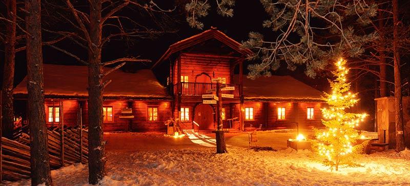 Резиденция Деда Мороза в Савалене