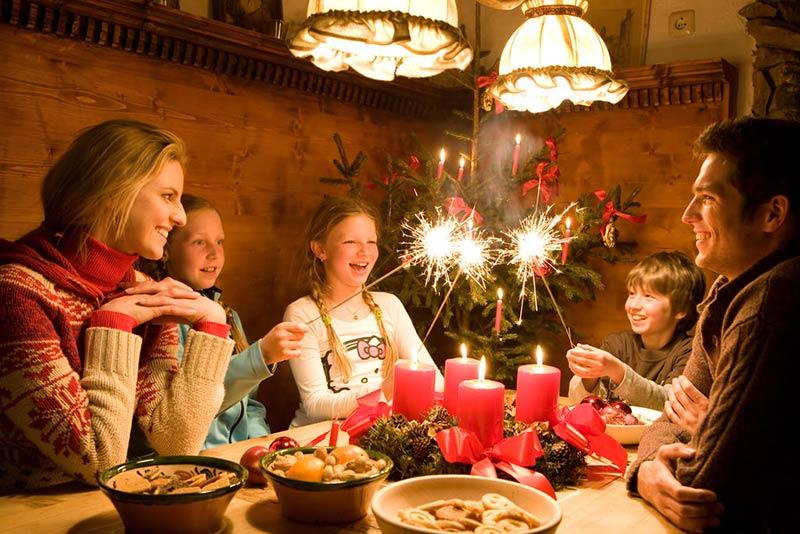 Новый год - семейный праздник в Норвегии