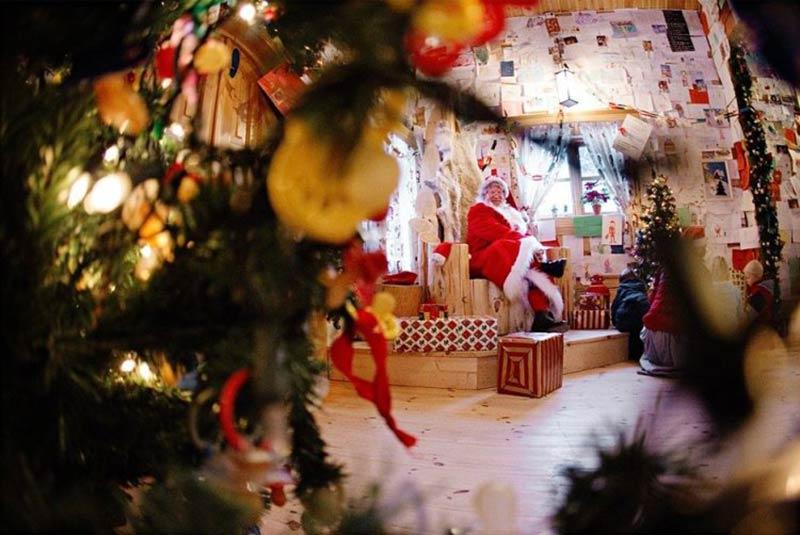 Внутри резиденции норвежского Деда Мороза