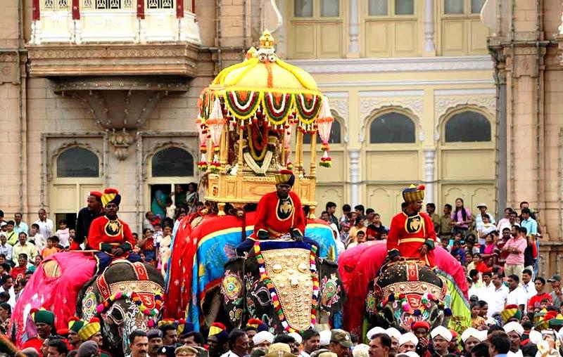 Фестиваль Дасара в Индии