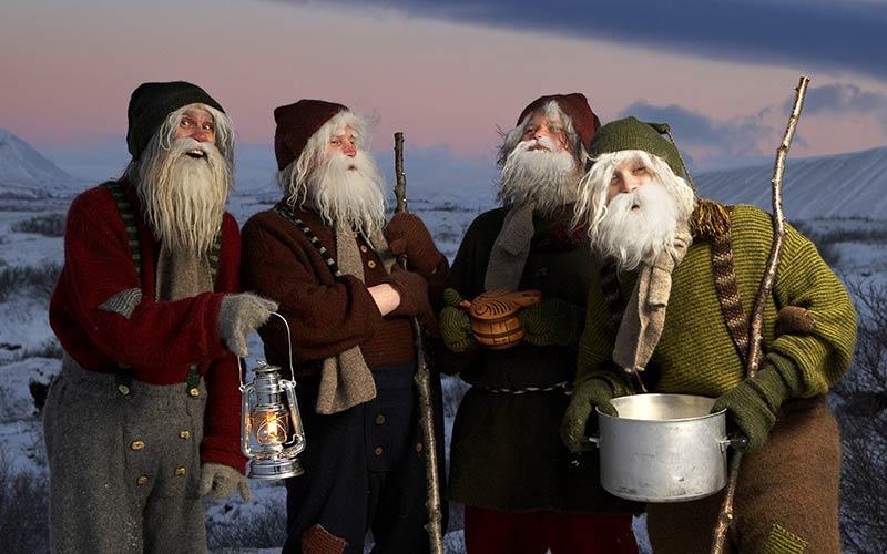 Йольские парни в Исландии