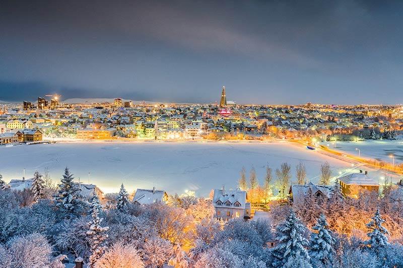 Рождество в Рейкьявике