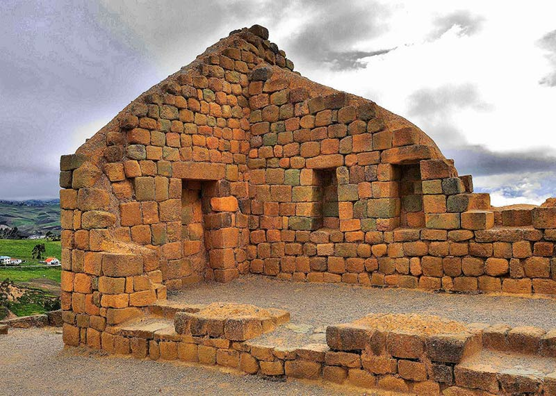 Комната на вершине Храма Солнца, Ингапирка