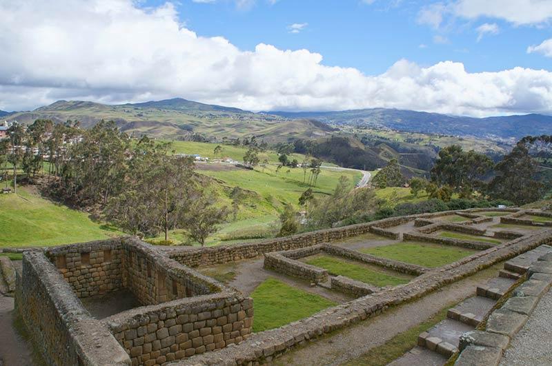 Вид на руины Ингапирка