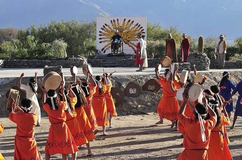 Инти Райми - праздник солнца в Эквадоре