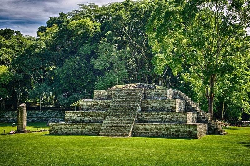 Копан (древний город майя) в Гондурасе