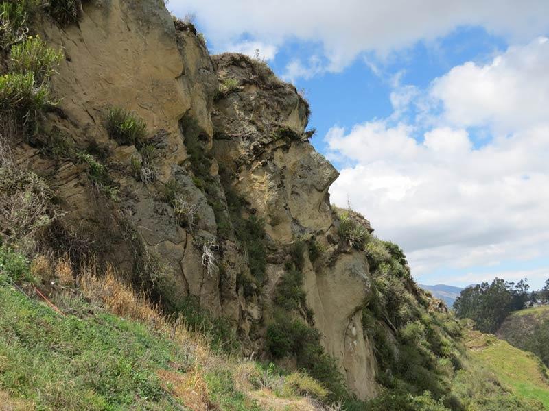 Лицо человека в скале, Ингапирка