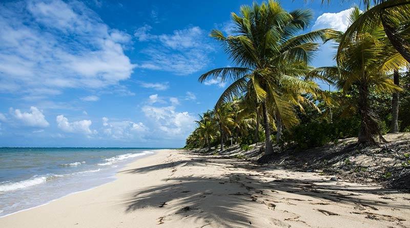 Пляж на острове Роатан
